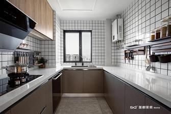 20万以上120平米三室三厅北欧风格厨房图片大全