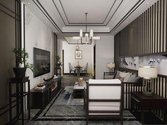 70平米中式风格客厅装修效果图