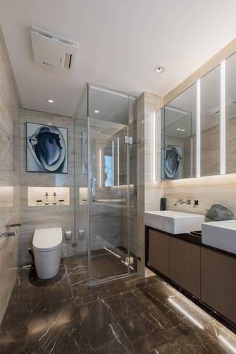 20万以上80平米三室两厅中式风格卫生间欣赏图