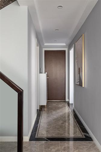 15-20万140平米复式现代简约风格走廊装修图片大全