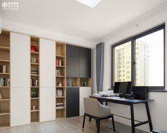20万以上130平米三室两厅北欧风格书房装修案例
