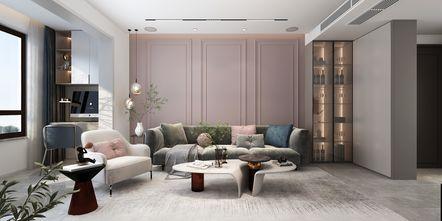 15-20万120平米三室两厅现代简约风格客厅图片大全
