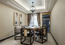 富裕型80平米三室一厅现代简约风格餐厅设计图