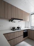 15-20万140平米三室两厅日式风格厨房效果图