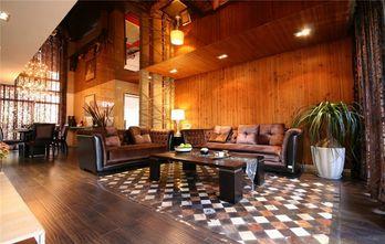 20万以上60平米田园风格客厅设计图