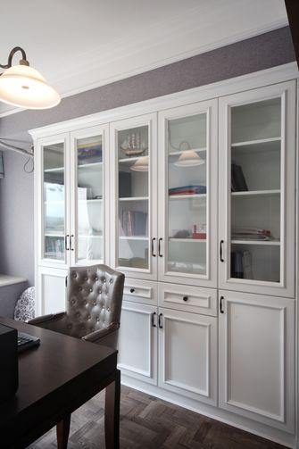 富裕型120平米日式风格书房效果图