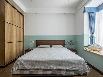 富裕型110平米三室两厅日式风格卧室装修案例