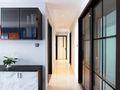富裕型90平米三室一厅北欧风格走廊图