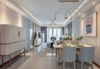 富裕型130平米三北欧风格餐厅装修图片大全