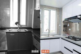 富裕型80平米三室两厅北欧风格厨房装修图片大全