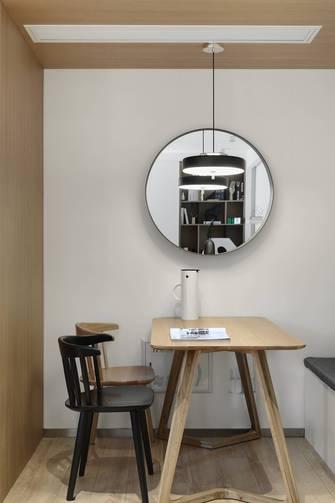 5-10万50平米公寓现代简约风格餐厅图