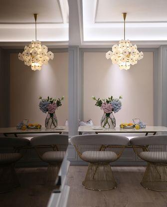 100平米三欧式风格餐厅设计图