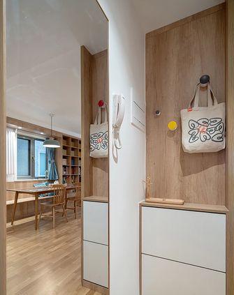 15-20万140平米三室一厅日式风格玄关图