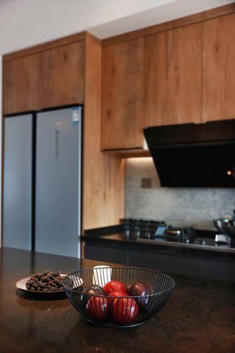 120平米三室两厅工业风风格厨房效果图