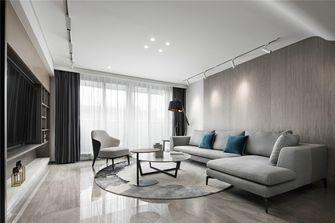 20万以上130平米复式现代简约风格客厅图片大全