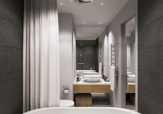 豪华型50平米一居室北欧风格卫生间设计图