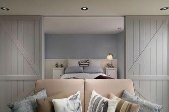 富裕型90平米一室两厅美式风格卧室装修案例