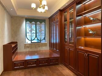 富裕型140平米三室两厅新古典风格卧室装修图片大全