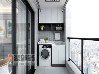5-10万120平米四室两厅现代简约风格阳台效果图