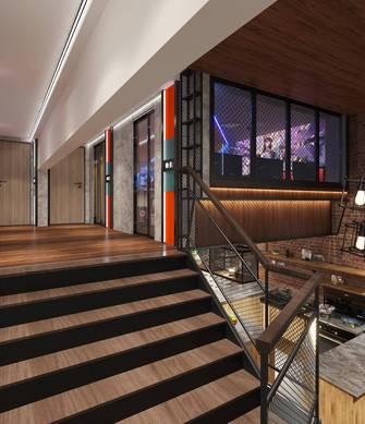 140平米工业风风格走廊装修案例