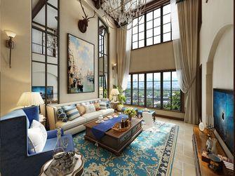 豪华型140平米别墅地中海风格客厅装修图片大全