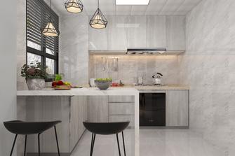 80平米复式北欧风格厨房装修效果图
