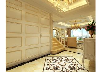 富裕型130平米欧式风格玄关设计图