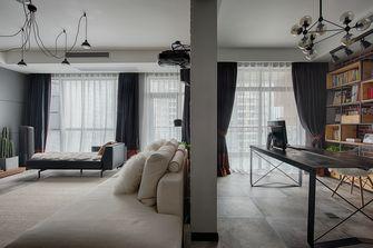 富裕型三室两厅现代简约风格客厅图