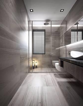 140平米四室三厅中式风格卫生间装修效果图