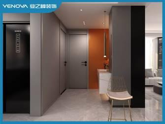 60平米一室一厅现代简约风格玄关图