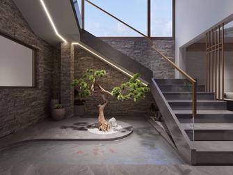 140平米别墅日式风格楼梯间图