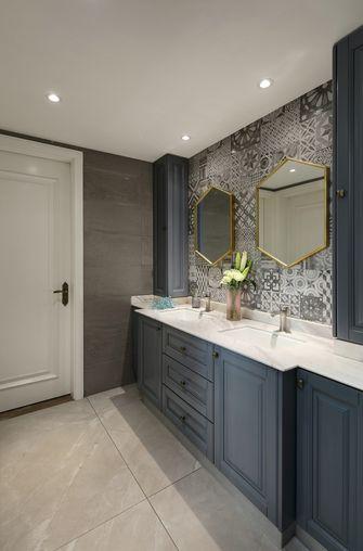 豪华型120平米三室两厅新古典风格卫生间装修图片大全