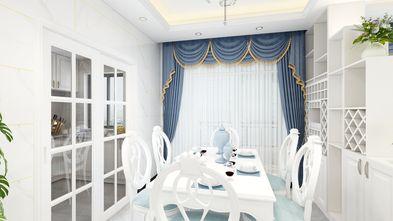 5-10万110平米三室一厅欧式风格餐厅图片大全