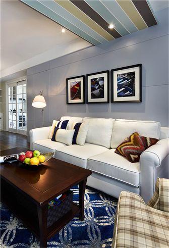 50平米公寓田园风格客厅装修图片大全