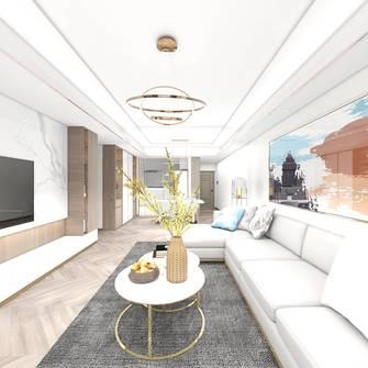15-20万100平米三室一厅现代简约风格客厅装修案例