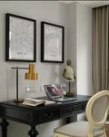 10-15万40平米小户型法式风格书房设计图