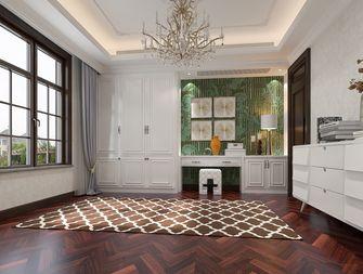140平米别墅美式风格衣帽间装修案例