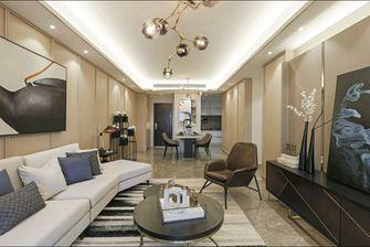 豪华型130平米三室两厅欧式风格客厅图