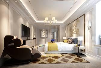 豪华型140平米美式风格卧室效果图