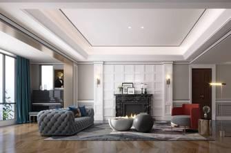 20万以上140平米三室两厅美式风格餐厅图片