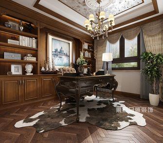 豪华型140平米复式新古典风格书房图