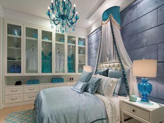 富裕型140平米三室两厅地中海风格卧室设计图