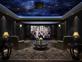 20万以上140平米别墅欧式风格影音室设计图