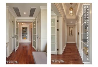 20万以上130平米三美式风格走廊设计图