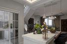 140平米三室一厅现代简约风格餐厅欣赏图