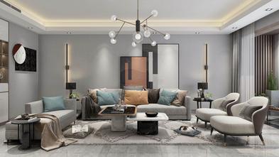 20万以上100平米三中式风格客厅装修效果图