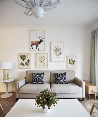 80平米三北欧风格客厅装修效果图