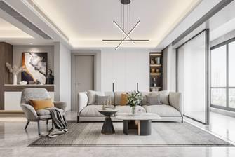豪华型140平米三现代简约风格客厅图片大全