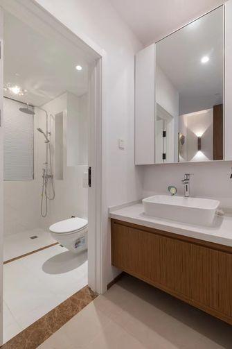 140平米复式日式风格卫生间装修案例
