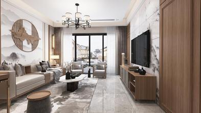 20万以上140平米别墅中式风格客厅装修案例